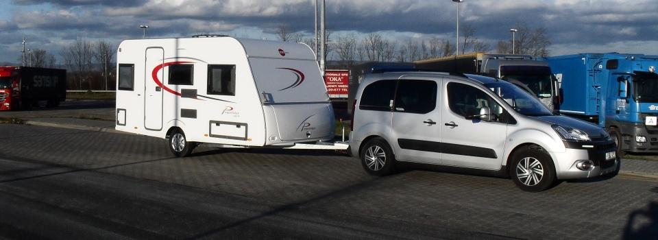 Berlingo mit LPG und Wohnwagen