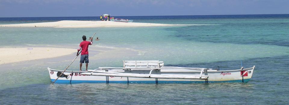 Tauchen auf White Island (Camiguin, Philippinen, 2006)