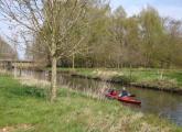 Paddeln auf der Niers 7 (Haus Golten, Geldern, 19.04.2015)