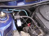 Einbauten im Motorraum 1