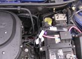 Einbauten im Motorraum 2