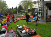Startvorbereitung in Wetter a.d. Ruhr