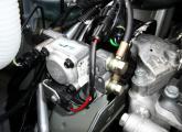 Gas-Einbauten im Motorraum